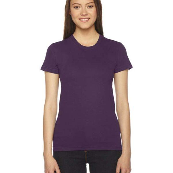 American Apparel Ladies' Fine Jersey Short-Sleeve T-Shirt