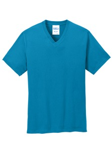 Port & Company 5.4oz Cotton Core V-Neck Tee