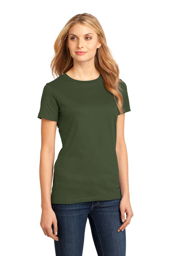 District Made® – Ladies Perfect Weight® Crew Tee