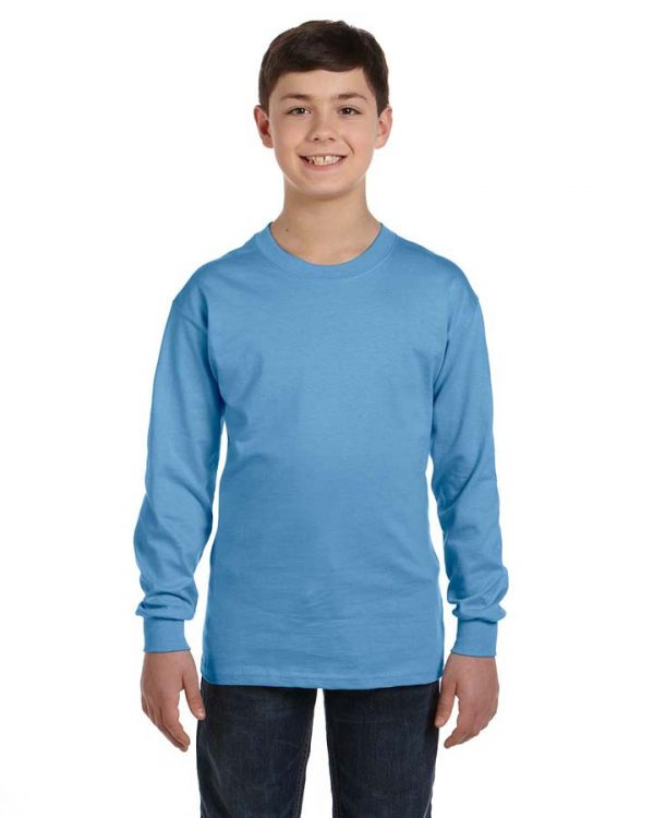 Gildan G5400 5.3oz Long Sleeve Youth Shirt